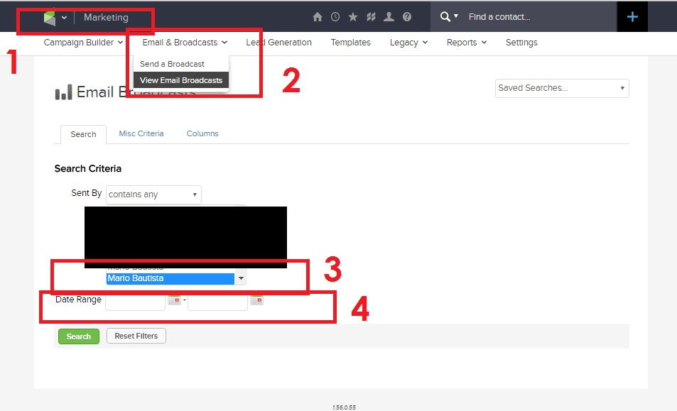 How to Send to Unopens In Infusionsoft